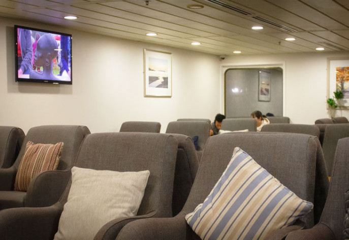 Interislander Aratere Plus Lounge