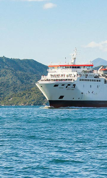 Aratere Cook Strait ferry to Picton