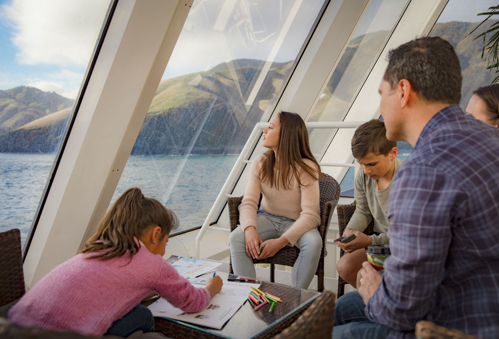 Taking time to enjoy your family is what Interislander is all about!