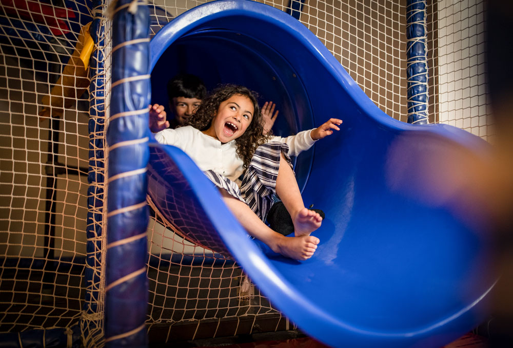 Non-stop play time aboard Interislander