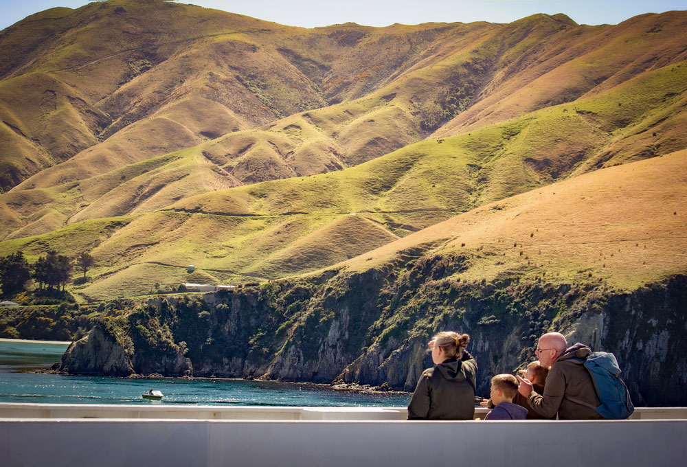 Show your kids the beauty of New Zealand with Interislander