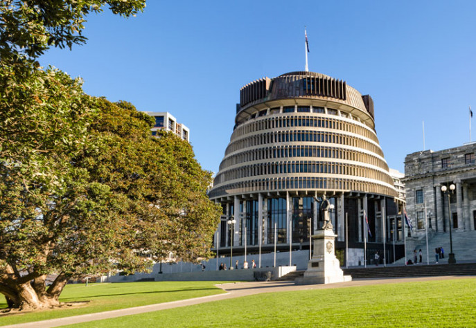 Beehive Wellington Parliament 730x504