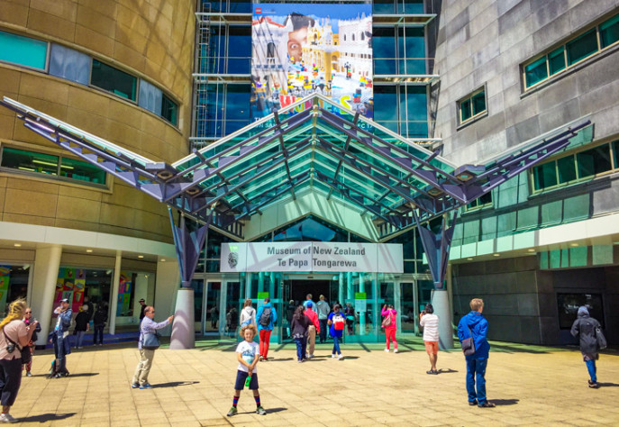 Destinations Wellington Te Papa Entrance 730x504