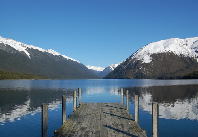 Winter at Lake Rotoiti 730x504