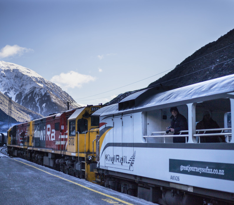 Arthurs Pass Station TranzAlpine Feature