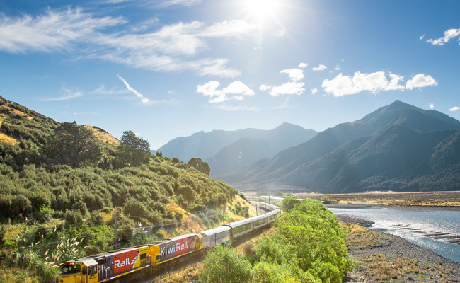 TranzAlpine New Zealand By Train Feature