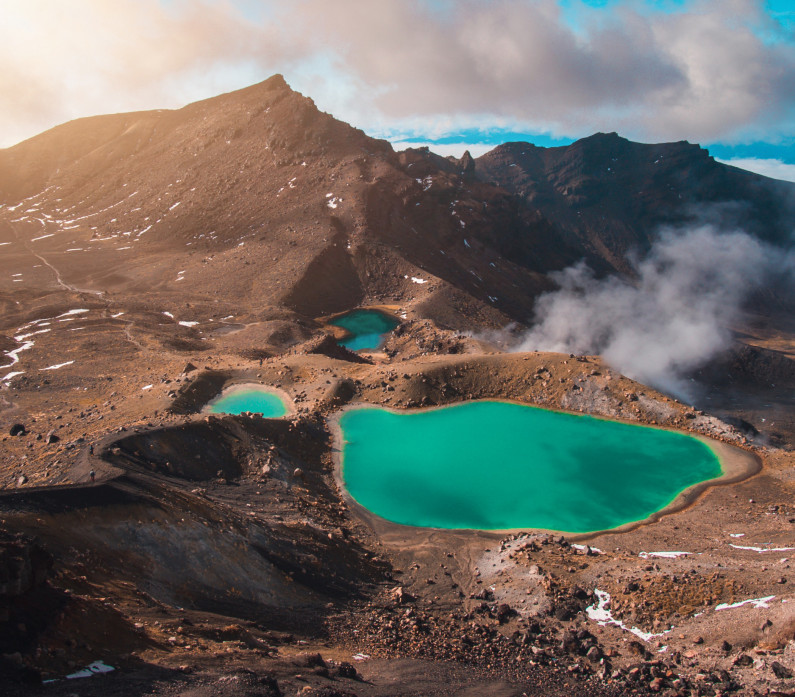 Tongariro Nation Park New Zealand Holiday Feature