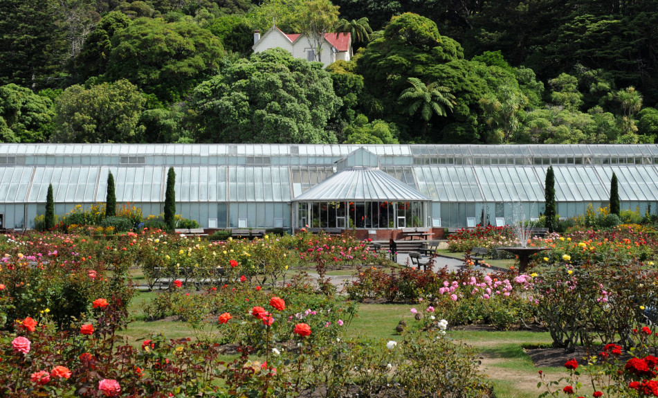 Botanic Gardens in Wellington
