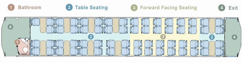 AK Onboard Carriage Seating Plan