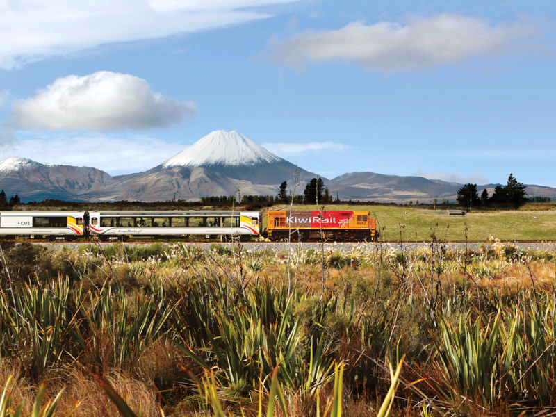 Northern Explorer Train To National Park Great Journeys Of New Zealand