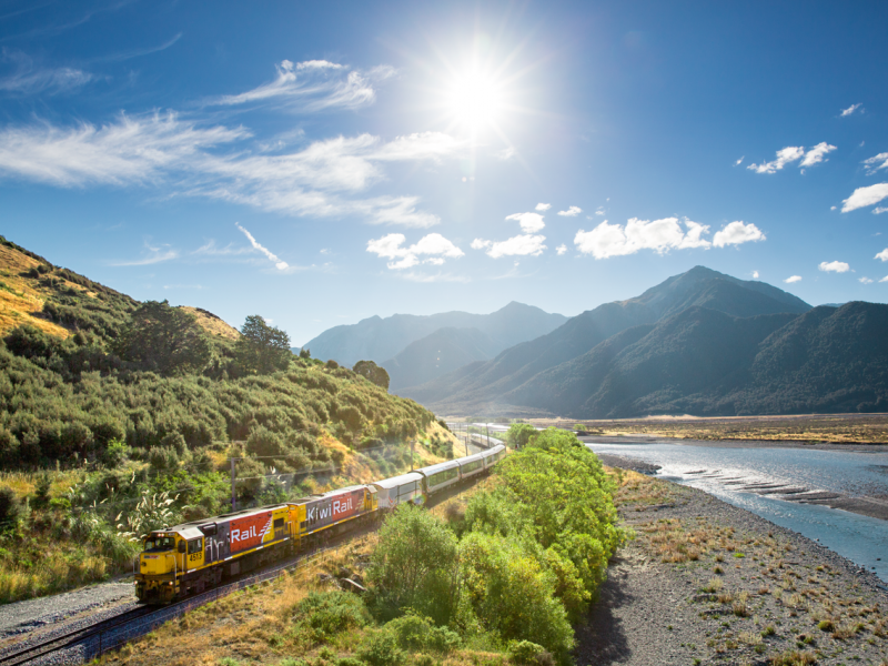 TranzAlpine Christchurch To Greymouth Great Journeys Of New Zealand