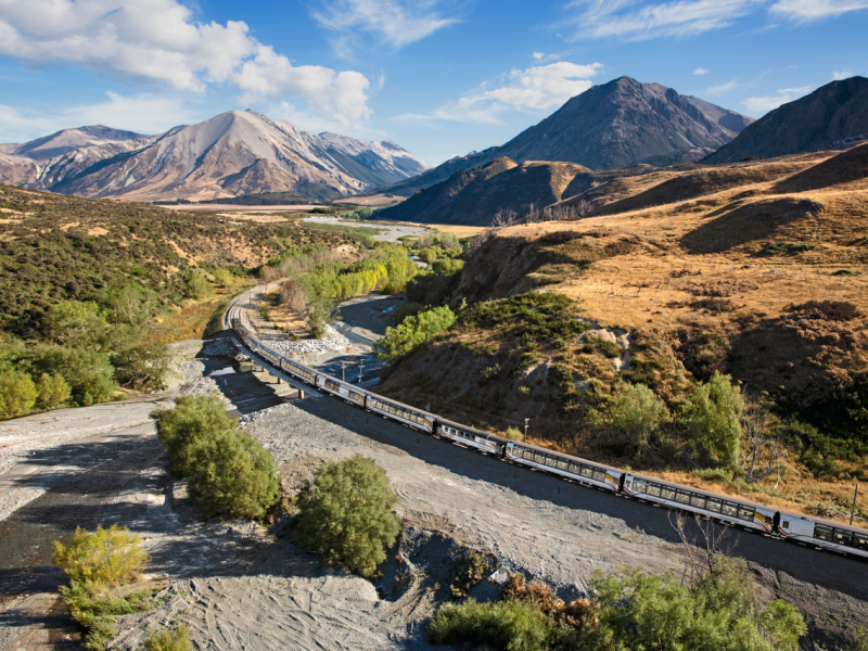 TranzAlpine Greymouth To Christchurch Great Journeys Of New Zealand