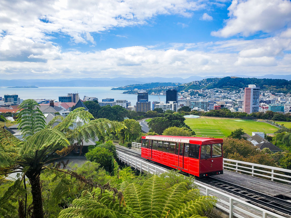 Visit Wellington by train and ferry with The Great Journeys of New Zealand