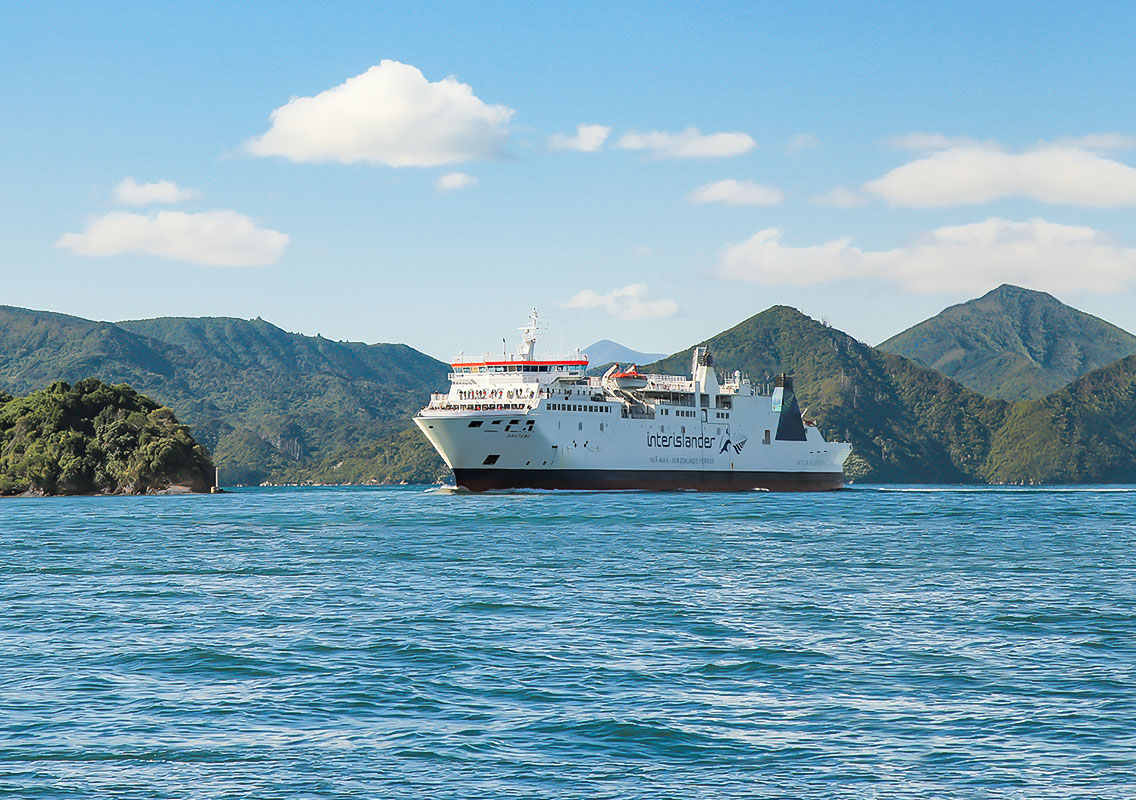 Interislander Cook Strait Ferry Official | The Great