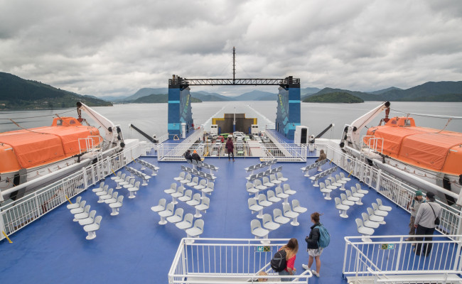 interislander at sea feature