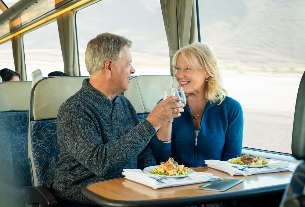 Savour the journey with our Scenic Plus Class experience