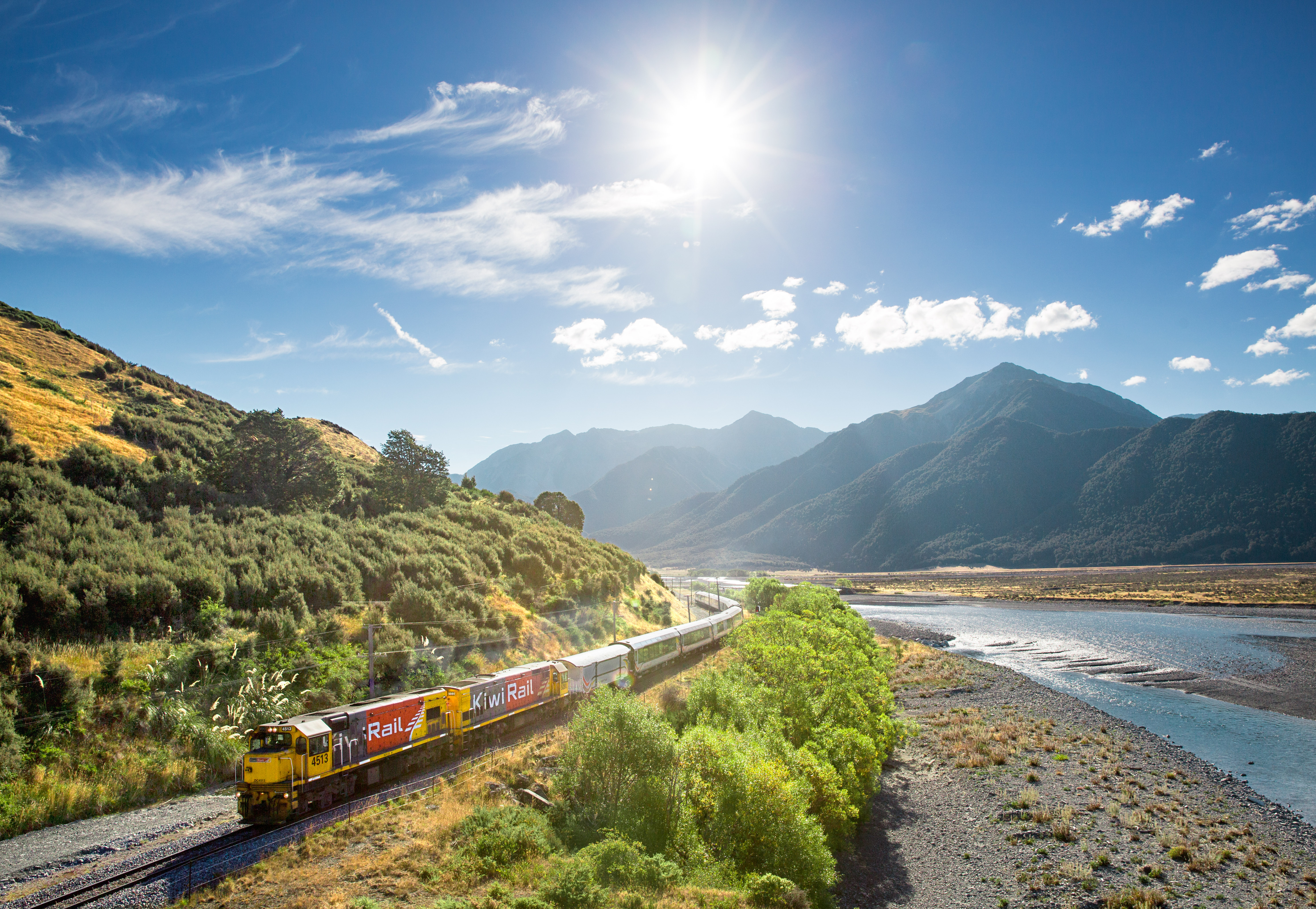 TranzAlpine New Zealand By Train Snippet
